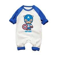 Macacão de bebê macacão infantil roupas de bebê recém-nascido meninos meninas macacão de roupas de bebê super heros spiderman hulk
