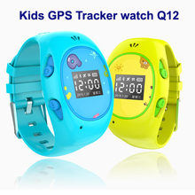 Kids GPS Tracker Watch S12 With SOS Emergency Anti Lost Smart Mobile Phone App Bracelet Wristband MTK6261 GSM GPS tracker watch
