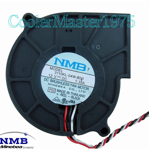 Nmb 3110KL 04W 50 DC12V 0.35A computer case cooling equipment radiator cooling fan computer worm gear fan