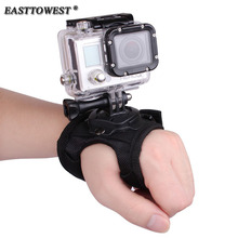 Easttowest 360 Degree Rotation Hand Strap Wrist Belt Mount for Go Pro Hero 6 5 4