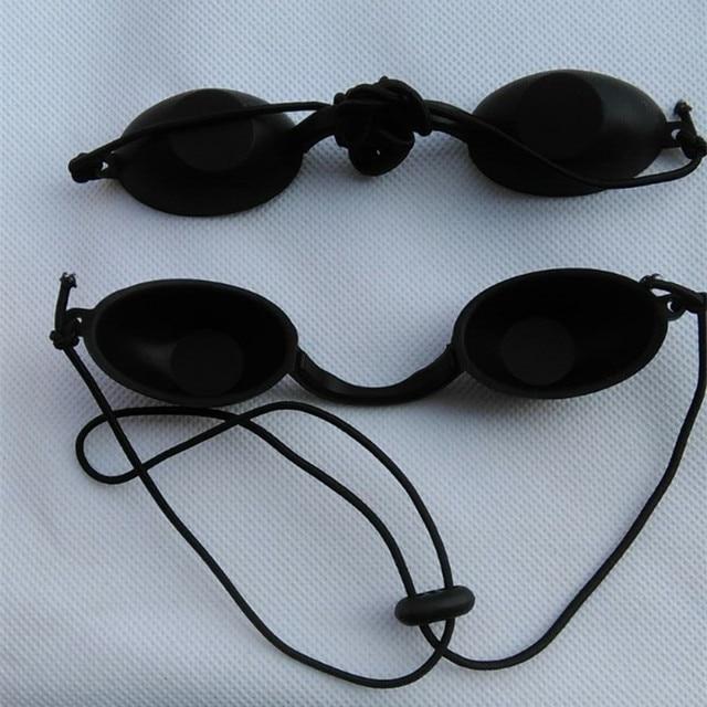 Preto Eyepatch Luz Laser de Proteção Óculos de Segurança Óculos de Proteção  ocular Paciente Clínica OPT 1882848ed3