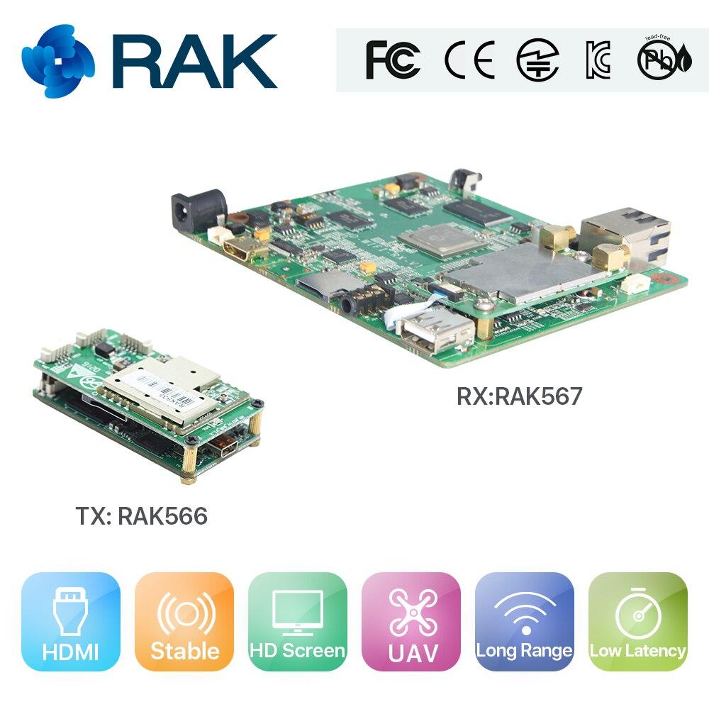 Flylink HD +, Wireless HDMI Extender/adattatore/trasmettitore, 5.8g HDMI Extender/modulo trasmettitore Video, UAV video soluzione di modulo