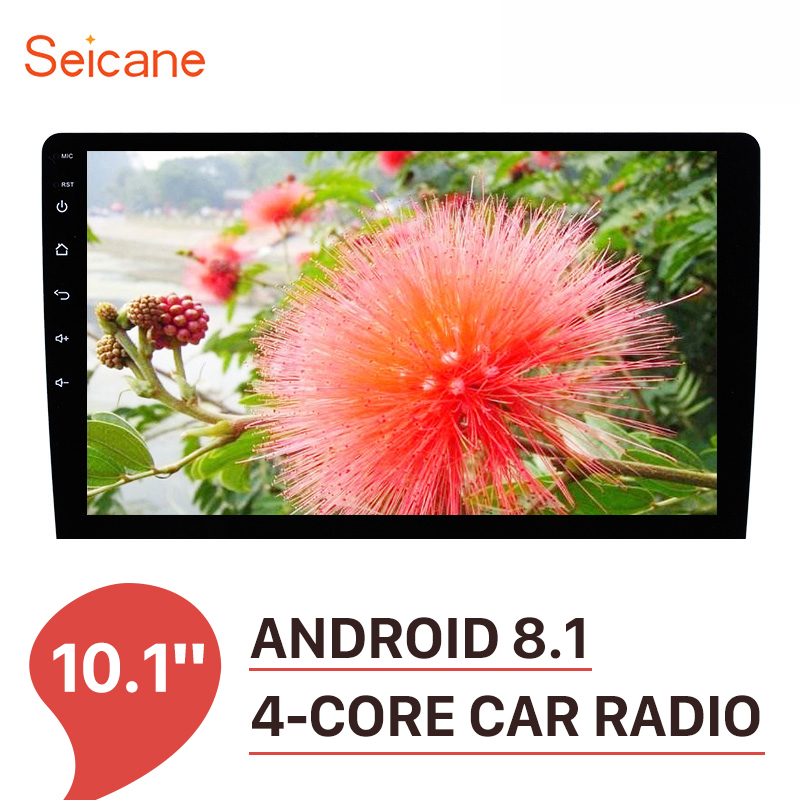 Seicane 10 1 Inch 2 Din Universal Android 8 1 Car Radio GPS Navigation Headunit Player