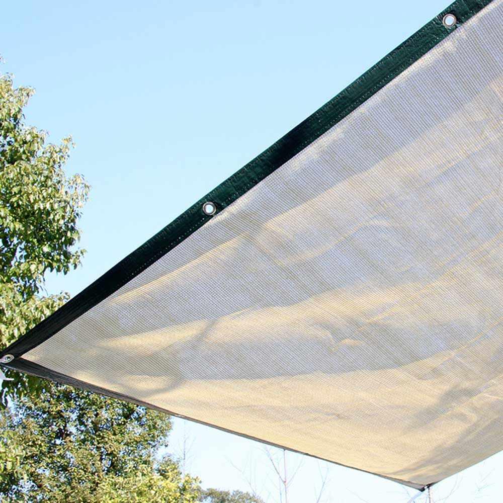 Outdoor Sun Shelter สุทธิ 6 เข็มหนาปกคลุม Sun สุทธิบ้านสวน Shade Sun Awning เรือนกระจกรถหลังคา Shade
