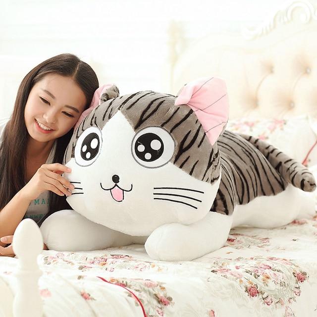 1 قطعة 30 سنتيمتر Kawaii ألعاب من القطيفة اليابان الكرتون أنيمي ألعاب من القطيفة تشي جميل القط أفخم دمى لينة ألعاب من القطيفة هدية عيد ميلاد