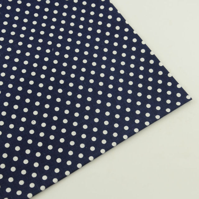 9fee4cb548d82 US $1.0 |1 Piece Printed Plaid Design White Dots Style 100% Cotton Fabric  Pre cut Fat Quarter Tissue Cloth Patchwork Clot Tela Art Work-in Fabric  from ...