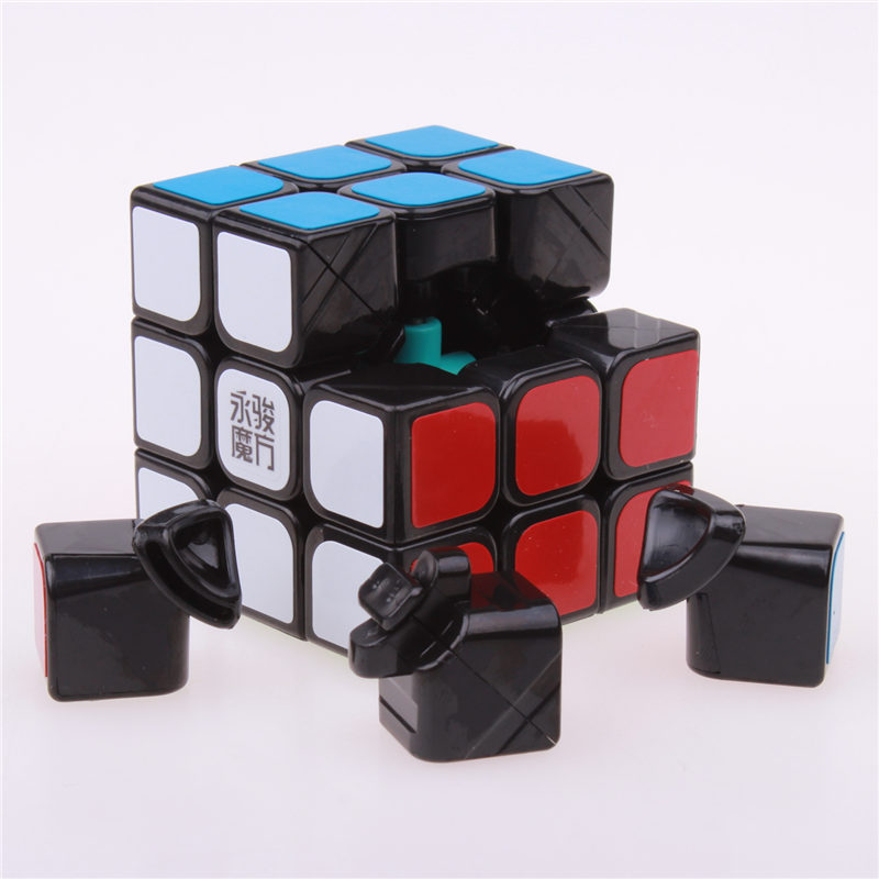 Original Moyu&YJ chilong Magic Speed Cube 3x3x3 Enhanced Edition 3 Layer Smooth Magic Cube Professional Competition Puzzle Cube yj guanlong speed third order magic cube toy