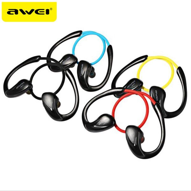 Bluetooth V4.0 Для Наушников Awei A880BL NFC Беспроводные Наушники с Микрофоном Спорт Гарнитура для Смартфонов PC ушной