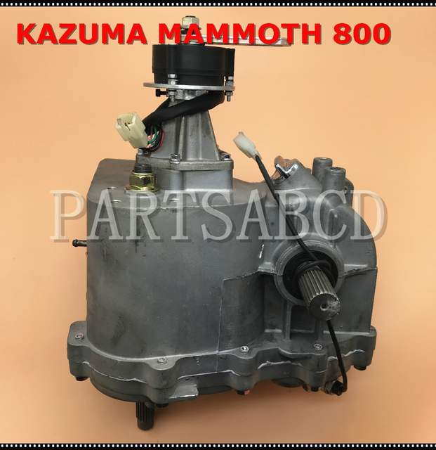 US $599 99 |KAZUMA Mammoth 800 UTV 800CC Transmission gearbox assy MM800  330 0001-in ATV Parts & Accessories from Automobiles & Motorcycles on
