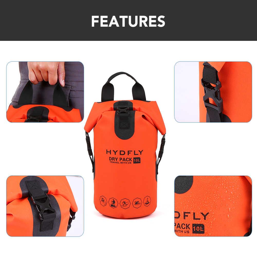 屋外ポータブルラフティングダイビング防水ドライバッグサック漂流水泳ウォータースポーツ収納袋川のトレッキングバックパック