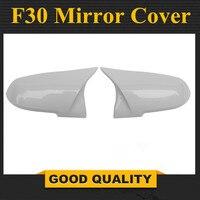 Bmw F30 白ミラーカバー 1 2 3 4 × 1 シリーズ F20 F21 F32 F36 F33 背面バックミラーカバー車の交換スタイル 2012 アップ