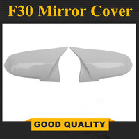Bmw f30 화이트 미러 커버 1 2 3 4x1 시리즈 f20 f21 f32 f36 f33 후면보기 미러 커버 자동차 교체 스타일 2012-up