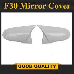 Dla BMW F30 białe lustro pokrywa 1 2 3 4X1 serii F20 F21 F32 F36 F33 tylne lusterko boczne pokrywa samochodów wymiana styl 2012-UP