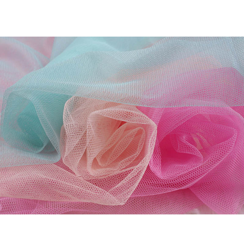 Soft Tulle Mesh Fabric Width 150cm For Wedding Dress Cloth Netting Mosquito Net Solid Color Soft Pettiskirt Veil Ball Gown Tutu