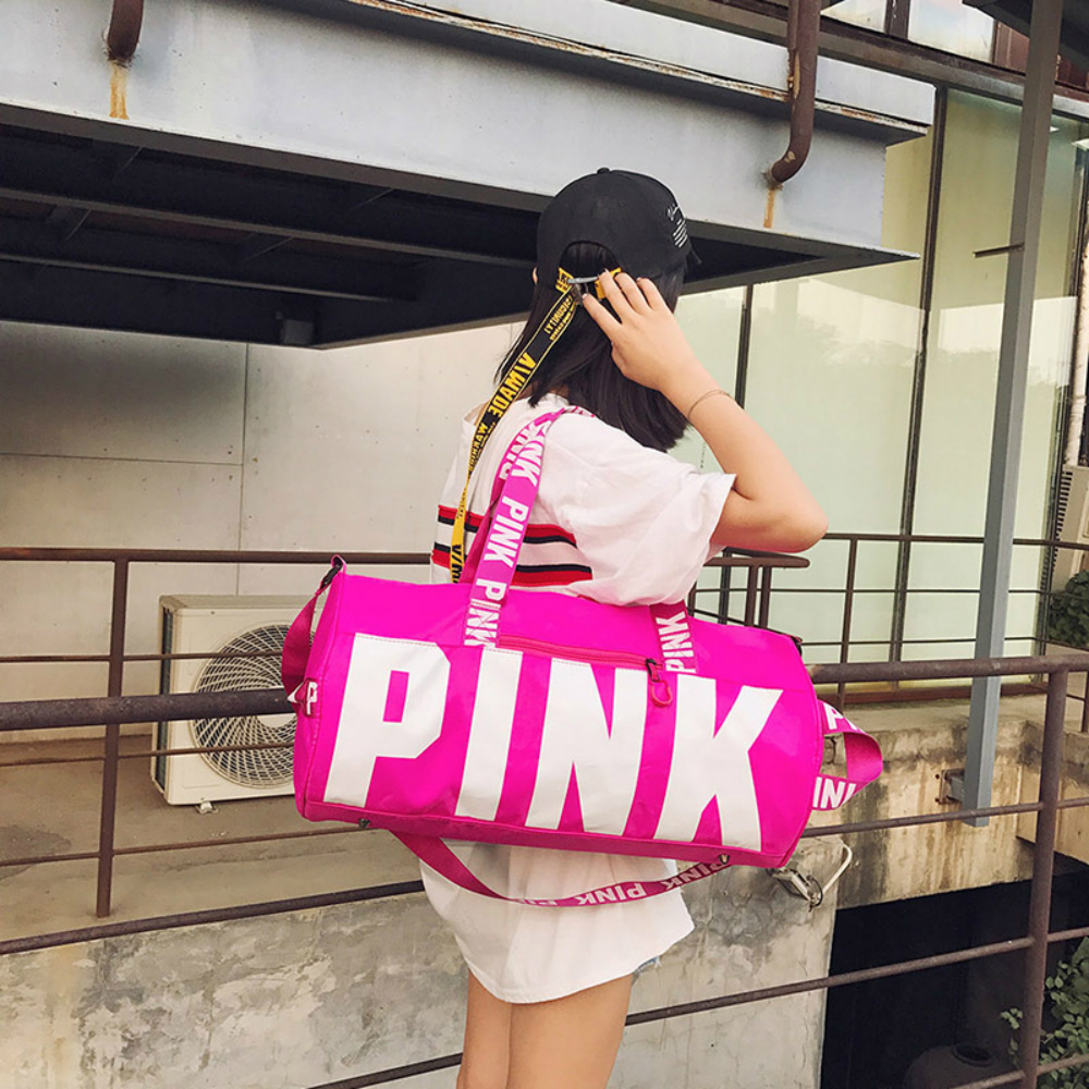 New 5 Color Love Pink Sport Gym Bag Women Fitness Waterproof Backpack Training Female Yoga Duffel Bag VsTravel Totes Duffels osgona подвесная люстра osgona fiocco 701081