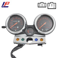 Motorcycle Gauges Cluster Speedometer Tachometer Odometer KM H RPM Instrument Assembly Set For CB400 CB 400