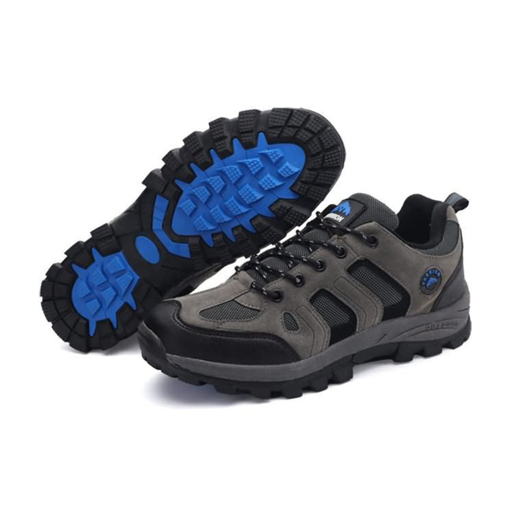 YG46170 Breathable Flat Heel Outdoor Climbing Shoes Outdoor Sports Camping Walking Hiking Trekking Gym Sneakers For Men Male yitu breathable hiking shoes for men outdoor sports shoes for autumn hunting camping men climbing sneakers large size 39 44
