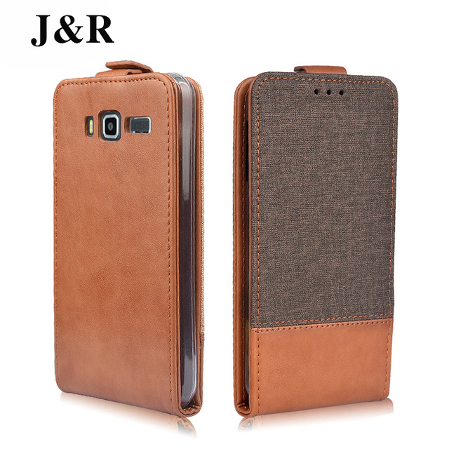 J&R Luxury PU Leather Cover Case For Lenovo A916 A 916 Case Flip Protective Phone Bag Wallet Fundas