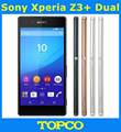 """Sony Xperia Z3 + Dual Original Desbloqueado 3G y 4G Android Quad-Core y Quad-Core 3 GB RAM Z3 Plus Dual E6533 5.2 """"20.7MP WIFI GPS 32 GB"""