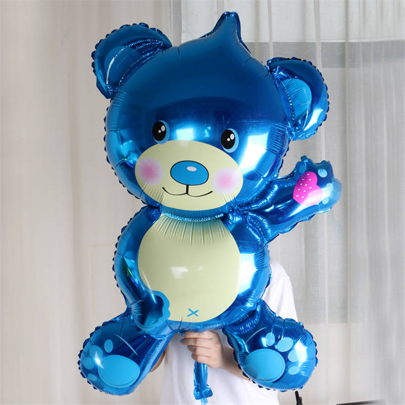 Free shipping new big size Teddy Bear foil balloon aluminum balloons birthday party decoration balloon wholesale baby toy