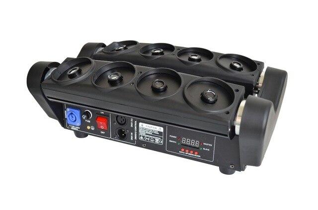 Lumière disco pas cher chine aliexpress 8 yeux araignée tête mobile lumière laser pour équipement dj