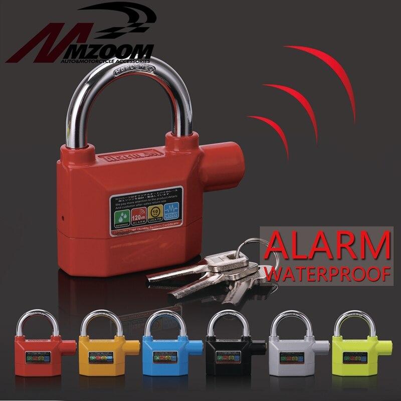 Free Shipping Waterproof Anti - Theft Lock Bike Motorcycle Alarm Disc Lock Home Security Lock For Motorbike Alarma Moto