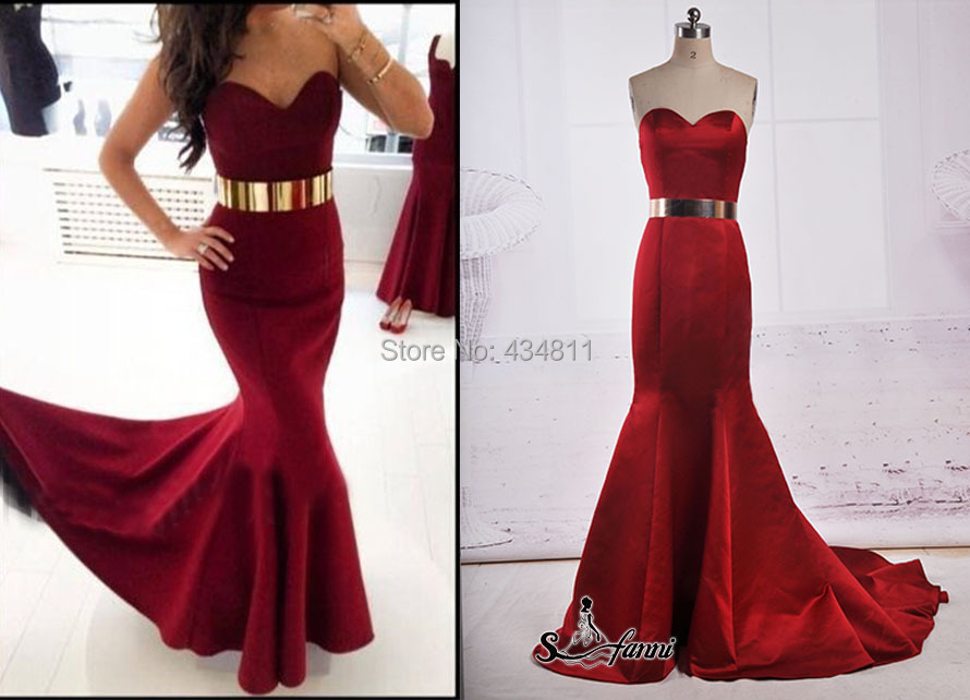 Aliexpress.com : Buy 2015 New Fashion Trend Red Sweetheart Gold ...