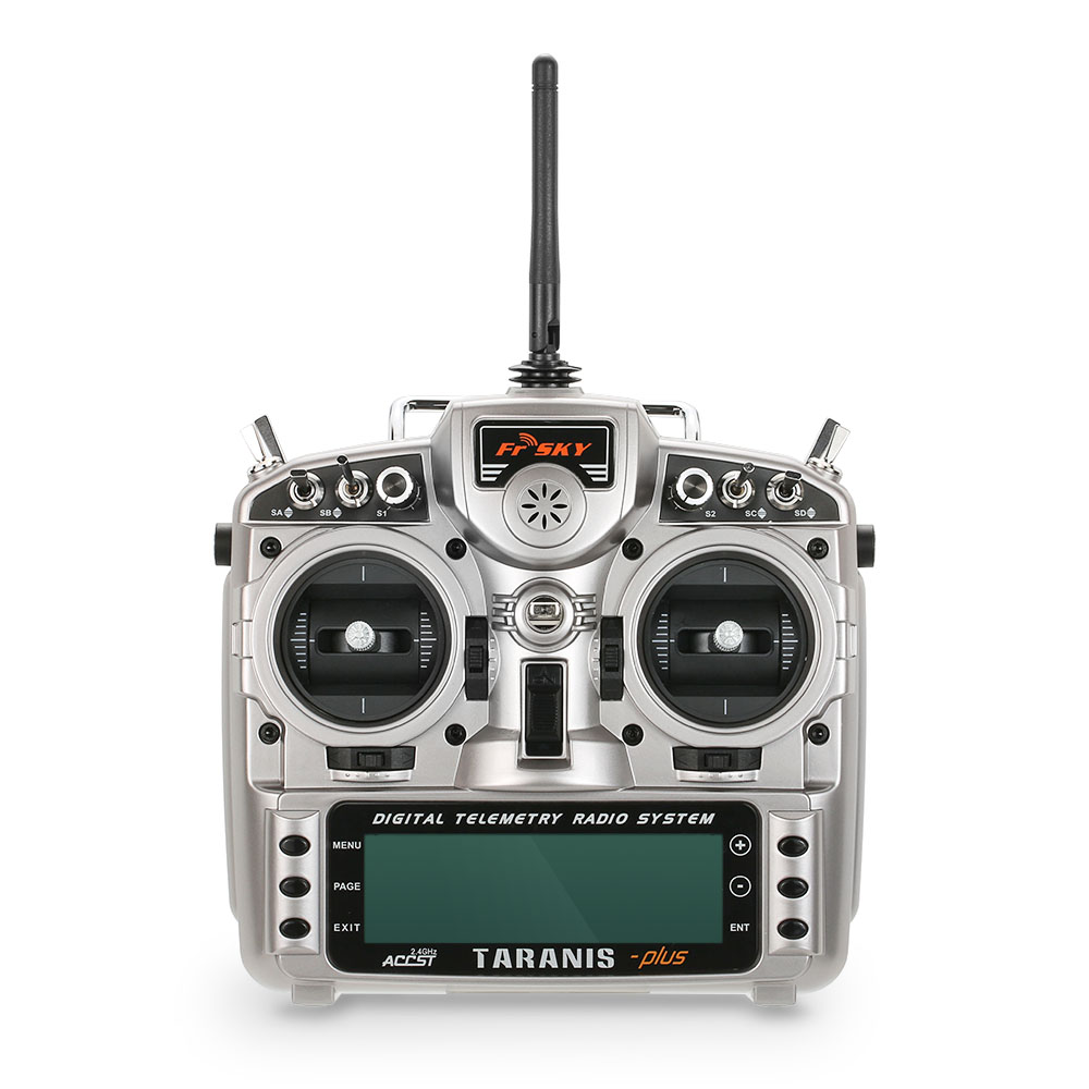 Original FrSky Taranis X9D Plus 2.4G ACCST 16CH Telemetry Radio Transmitter Open TX Mode 2 for RC Quadcopter Helicopter Airplane free shipping frsky 2 4ghz accst taranis x9d plus digital telemetry transmitter radio system set receiver x8r neck strap adapter