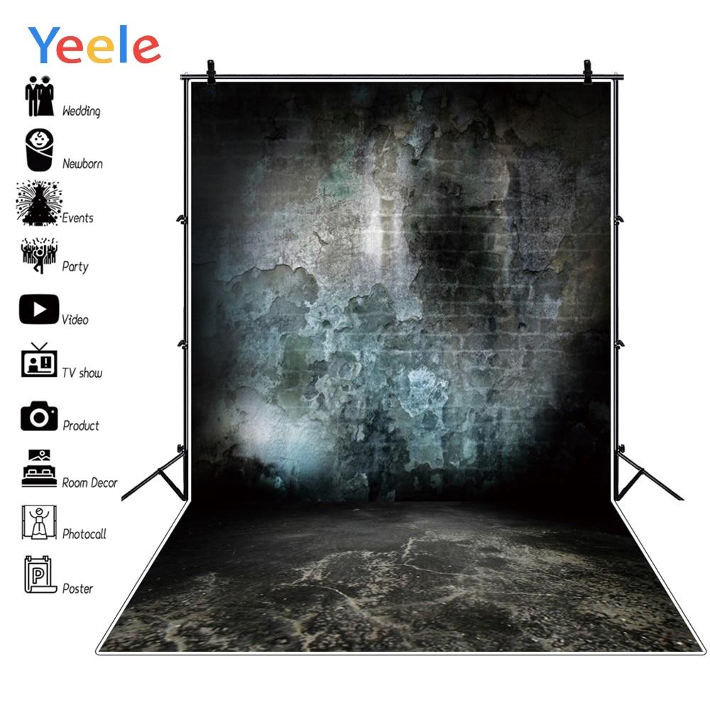 Yeele Brick Wall Black Grunge Wedding Photographic Backgrounds Professional Camera Photography Backdrops For The Photo Studio
