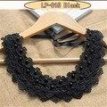 Victorian crystal choker collar negro lace choker collar de la vendimia mujeres joyería de la boda collar colgante mujeres de regalo de navidad
