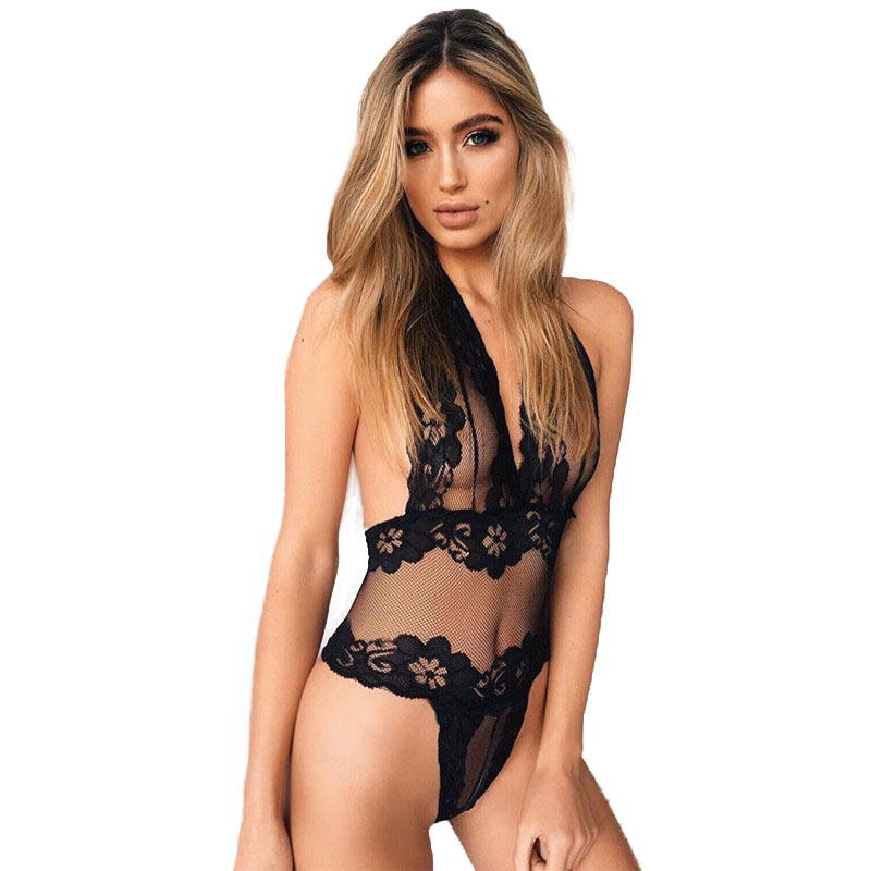 Hot Sale Sex Products High Quality Lace Underwear Women Costumes Erotic Sexy Lingerie Tr ...