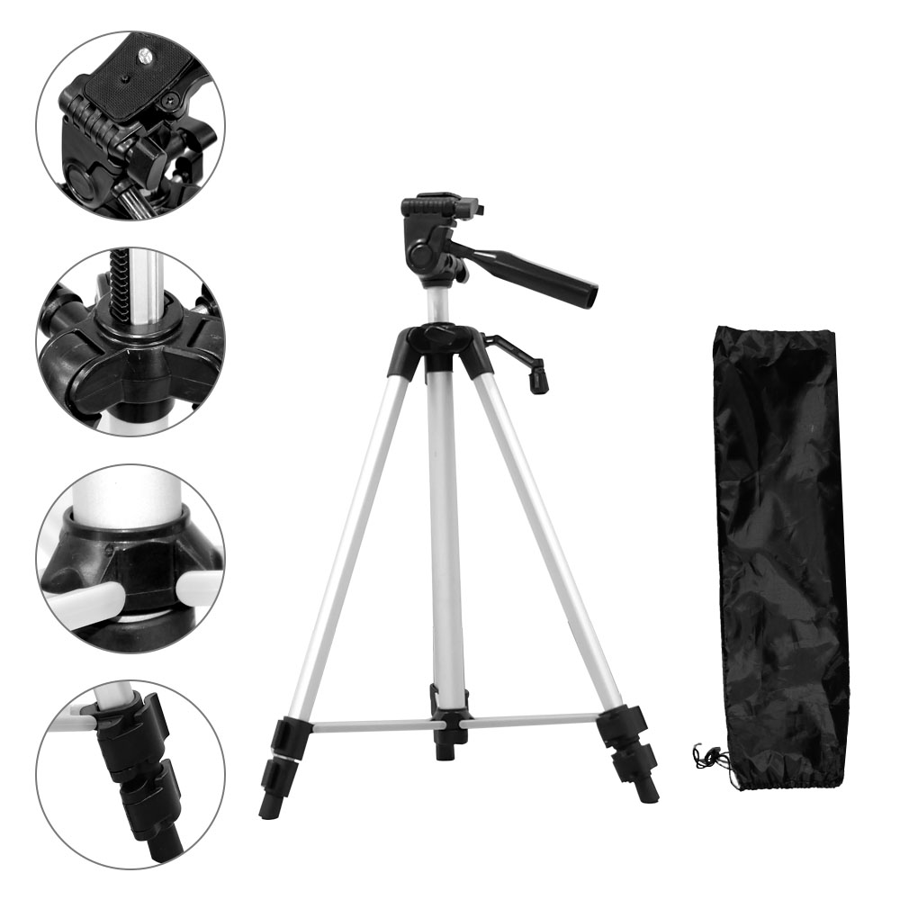 Universal Portable font b Tripod b font for Camera Phone with Holder Phone Clip Flexible Camera