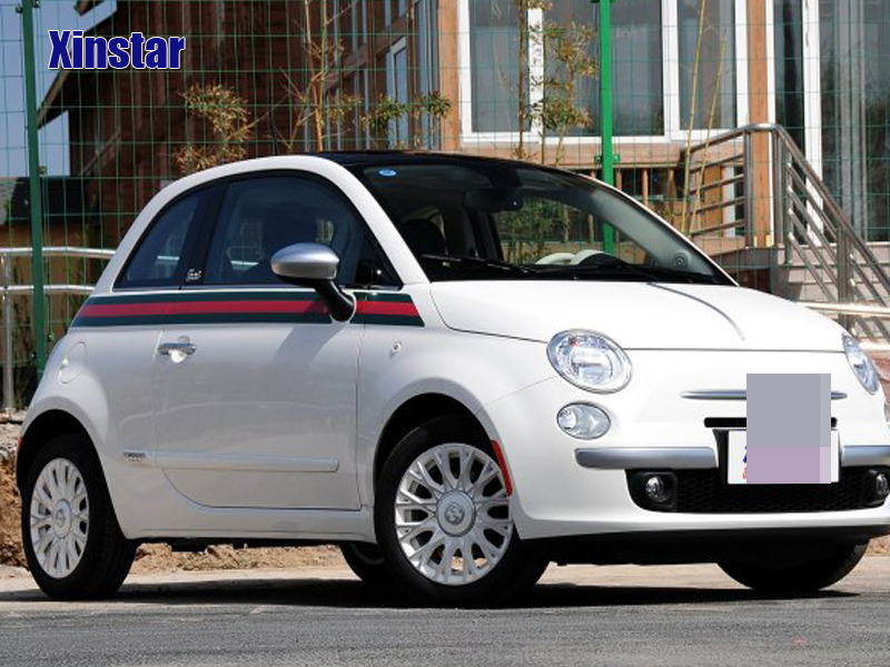 1lot Decal Sticker car body sticker for fiat 500