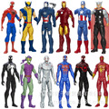 12inch 30cm The Avengers Super Heros Captain American Spider Man Iron Man Wolverine  action figure model toys