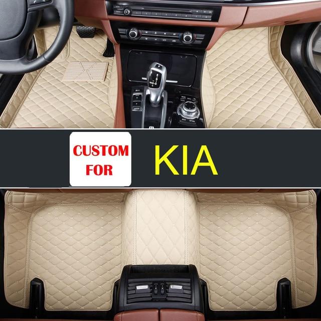 Floor Mats FloorLiner For Kia Soul 2010 2011 2012 2013 Front + Rear  All Weather