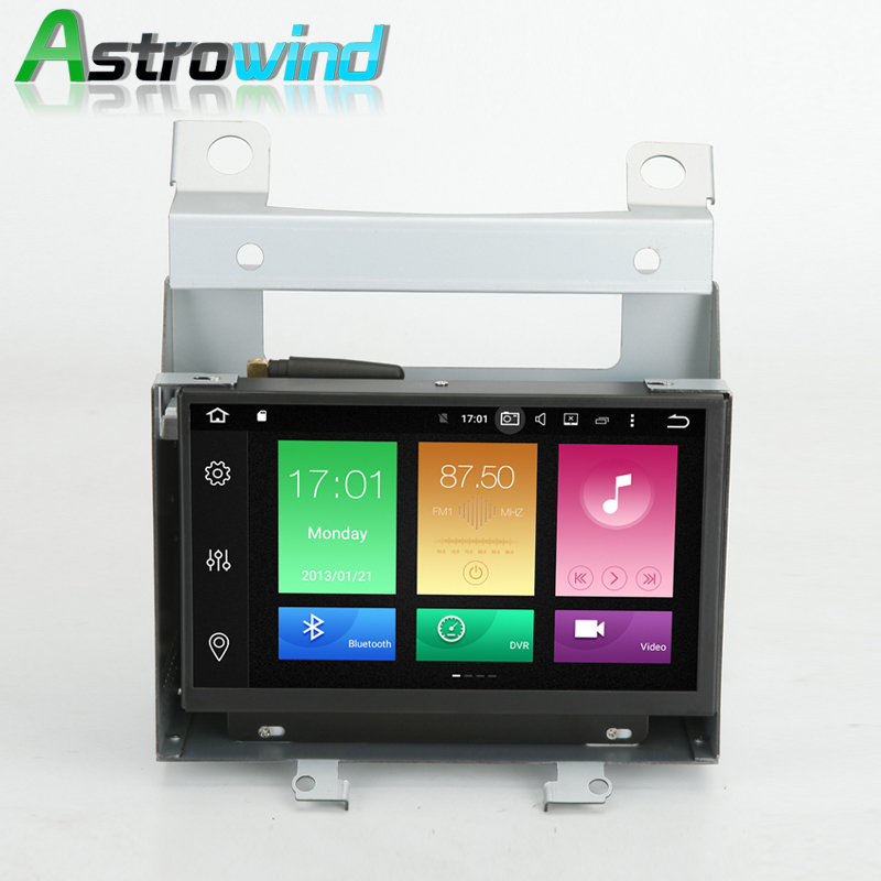 Astrowind 2G RAM Android 6 0 Car GPS Navigation System Radio Stereo Media for Land Rover