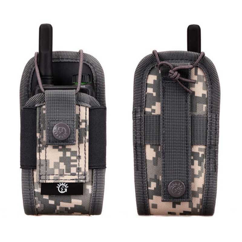 Airsoft militar táctica Molle Radio bolsa Walkie Talkie Wasit bolsa de bolsillo bolsa ejército Caza Revista Mag
