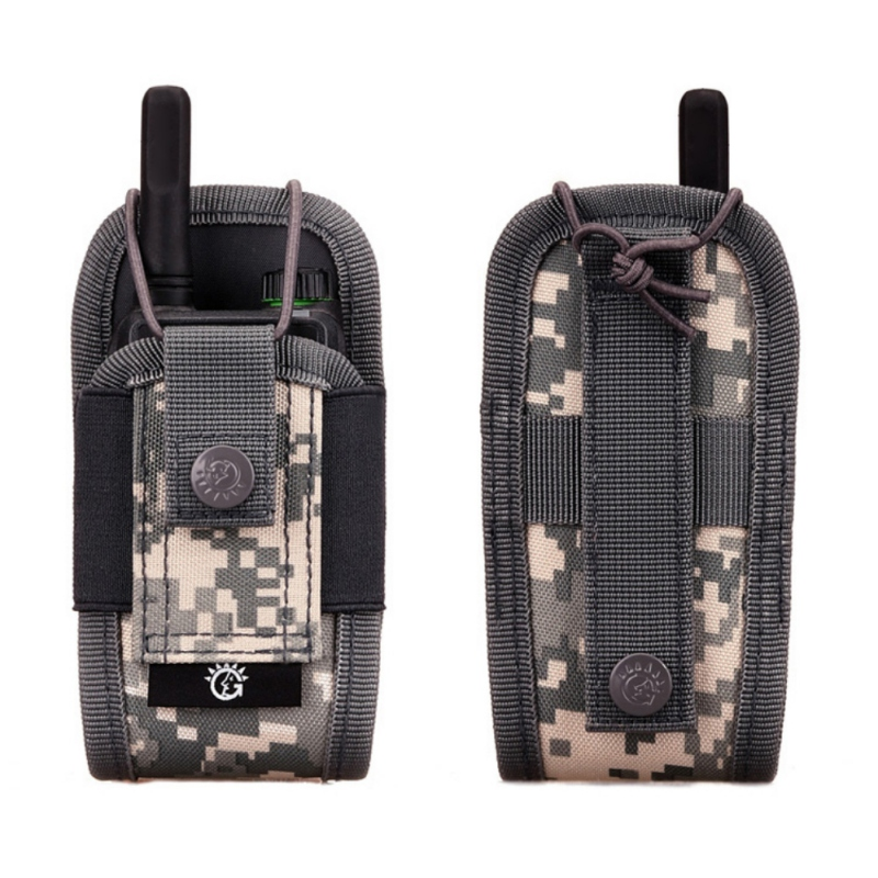 Military Airsoft Tactical Molle Radio Pouch Walkie Talkie Wasit Bag Holder Pocket Bag Army Shooting Hunting Magazine Mag