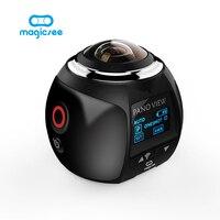 4K 360 Action Camera Wifi Mini Panoramic Camera 2448 2448 Ultra HD Panorama Camera 360 Degree
