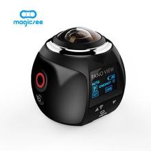 Magicsee V1 камеры 360 действие Камера Wi-Fi 2448*2448 Ultra HD Mini панорама Камера 360 градусов Спорт Вождения VR Камера
