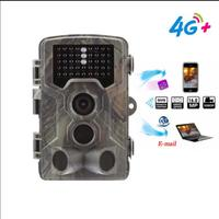 4G Hunting Camera Trail Cameras SMS MMS Email Wildlife Cameras Photo Traps Night Vision Surveillance Track HC800LTE