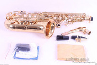 Gold Plated Alto Sax Alto Saxophone High Quality Low Price New 20