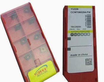 New 50PCS CCMT060204-MD Milling Carbide Insert CNC Milling Insert
