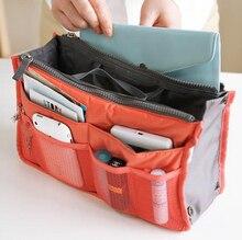 16 Colors Make up organizer bag Women Men Casual travel bag multi functional Cosmetic Bags storage bag in bag Makeup Handbag