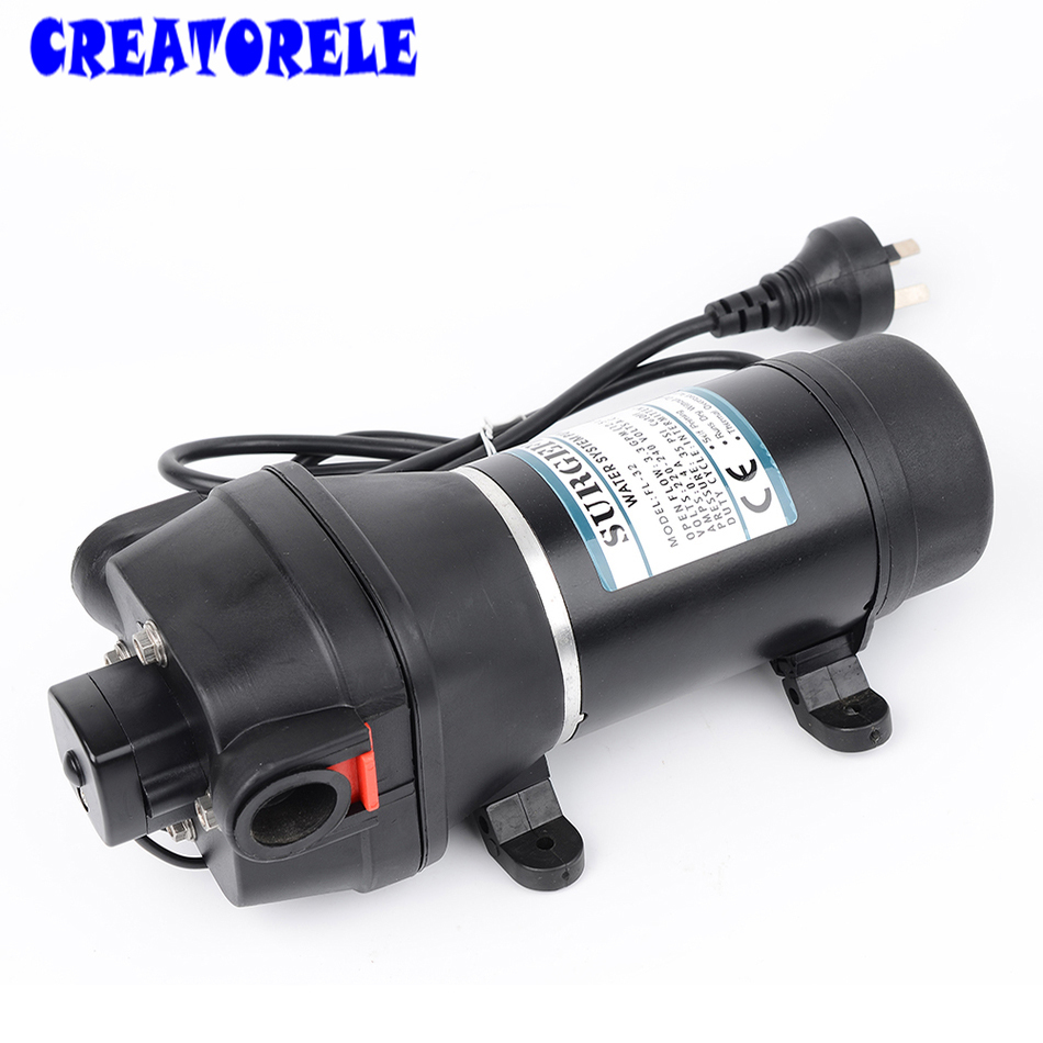 FL-32 FL-33 110v/220v ac diaphragm mini Submersible pump automatic switch 20m lift High pressure water pumps self-priming fl 32 33 220 110v ac water pump self priming diaphragm pump mini submersible pump automatic pressure switch 20m lift
