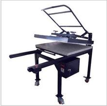 manual textile multicolor large heat press machine