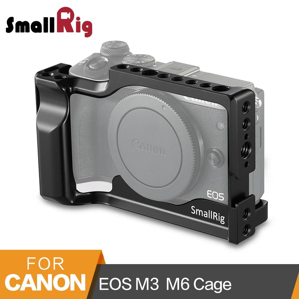 SmallRig для Canon EOS M3 и M6 клетка с холодной обуви + НАТО Rail + Встроенный Arca Swiss QR тарелка-2130