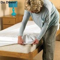 Alto grau conjunto Beding Colcha único À Prova D' Água 1.8 m lençol Colchão Capa Protetora Anti-ácaro Urinária de Ventilação