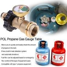 POL Пропан Датчик газа Таблица QCC1 барбекю давление клапан пропан бак давление тестер инструменты