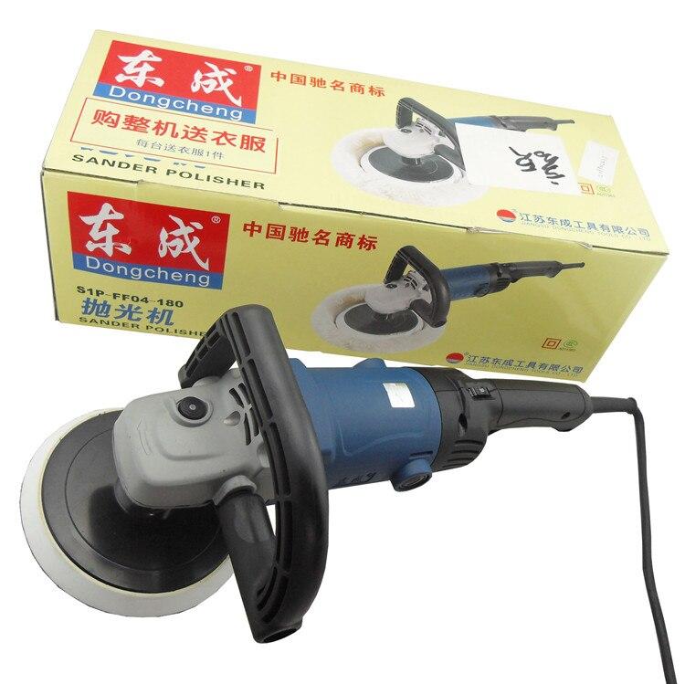 Leštička na auto 1400 W 180mm, 100% vlnkový voskovací stroj 220v - Elektrické nářadí - Fotografie 6
